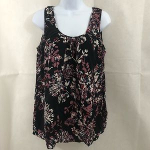 Motherhood Maternity Floral Sleeveless Top